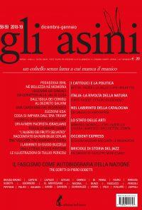 """""""Gli asini"""" n. 58-59, dicembre 2018 – gennaio 2019"""