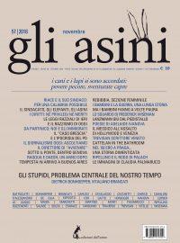"""""""Gli asini"""" n. 57, novembre 2018 (solo in pdf)"""