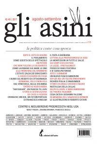 """""""Gli asini"""" n. 42-43, agosto-settembre 2017"""