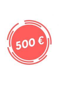 Donazione 500 euro