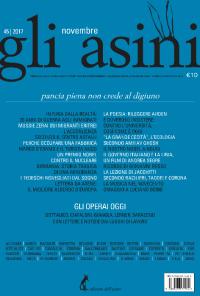 """""""Gli asini"""" n. 45, novembre 2017"""